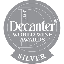 medal silver decanter - vini alois - alois wines